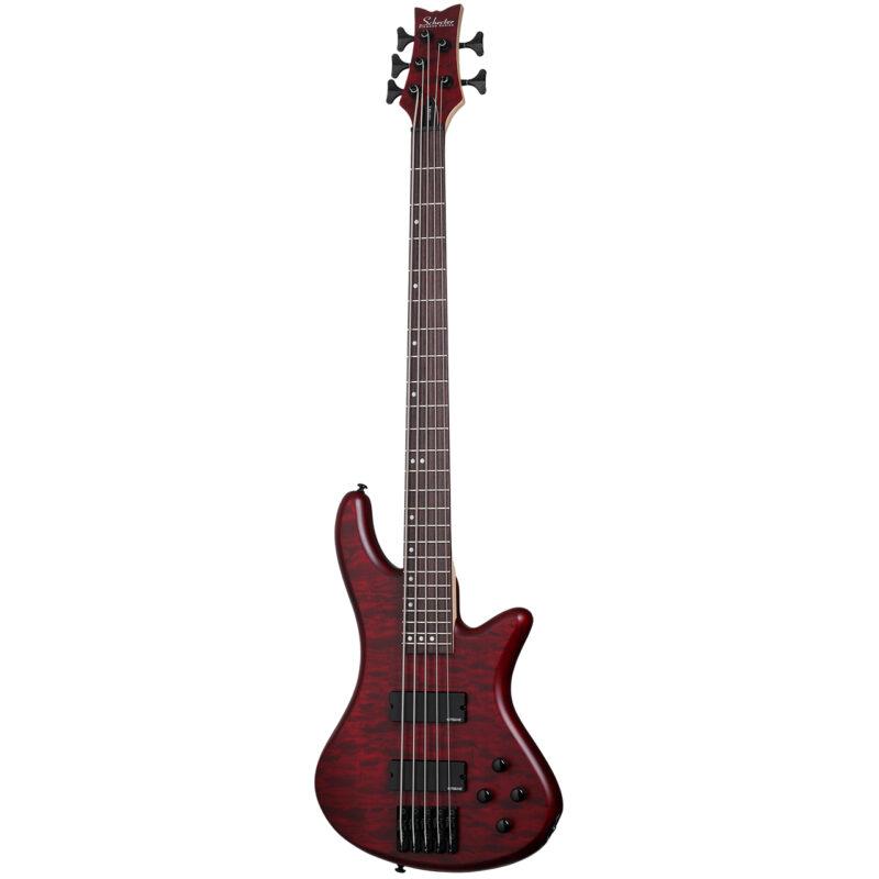 گیتار باس شکتر مدل Stiletto Custom-5 - 2538 - 2541